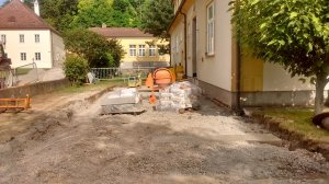 Fundament Rampe 29.6. 1