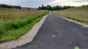 Güter- und Radweg Richtung Hl. Berg